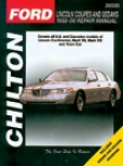 Ford & Lincoln Couppes/sedans (1988-00) Chilton Manual