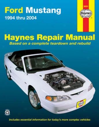 Ford Mustang Haynes Repair Manual (1994-2004)