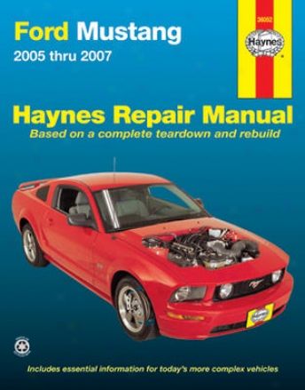 Ford Mustang Haynes Repair Manual (2005 - 2007)