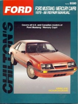 Wading-place Mustang/capri (1979-88) Chilton Manual
