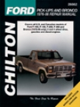 Ford Pick-ups And Bronco (1976-86) Chilton Manual