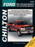 Ford Pick-ups And Bronco (1987-96) Chilton Mannual