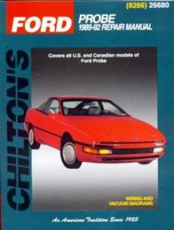 Wade through Probe (1989-92) Chilton Manual