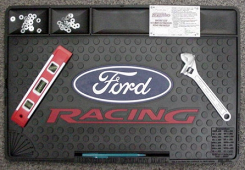 Ford Racing Logo Bench Top Utiilty Mat