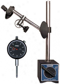 Fowler Dial Indicator And Magnetic Base Set