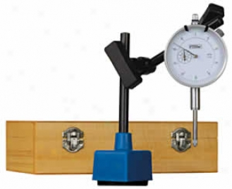 Fowler Dial Indicator Set With Magnetic Base - 1'' Range