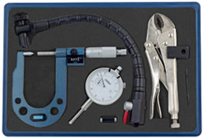 Fowler Disc And Rotor/ball Juncture Gage Combo Kit - Metric