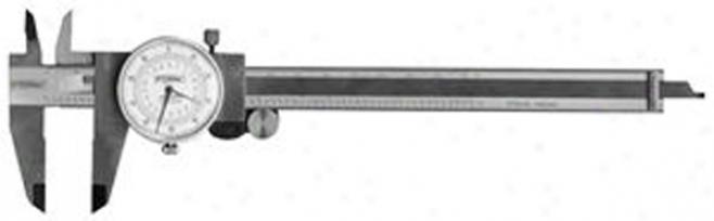Fowler Inch/metric Dial Caliper; 0-6''/155mm