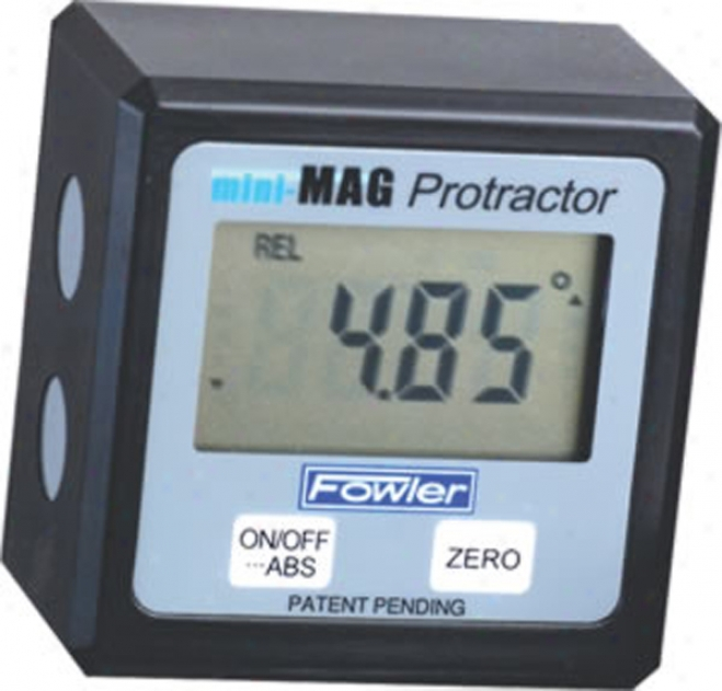 Fowler Mini-mag Protractor