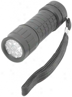 Garrity 9-led Mini Flashlight With Super Bright Beam