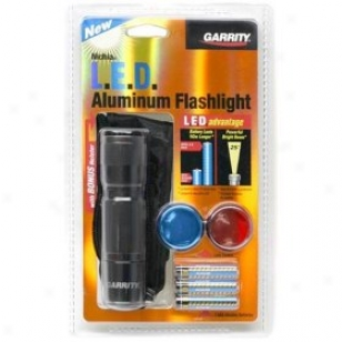 Garrity Nichia Led Aluuminum Flashlight (black)