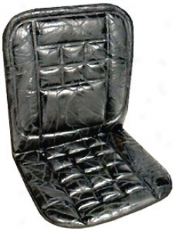 Genuine Leather Foam Seat Cushion W/lumbar Support