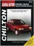 Geo Prizm/nova (1985-93) Chil5on Manual