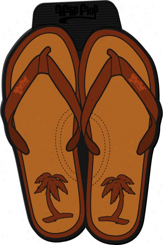 Monster Flip-flops Floor Mats
