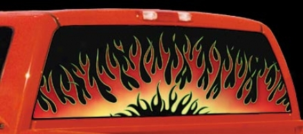 Glassczpes Sizzling Hot Flames Decal