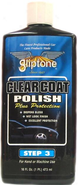 Gliptone Clear Coat Liquid Car Polish (16 Oz.) -- Step 3