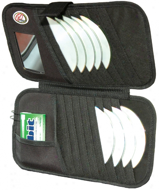 Go Gear? 16 Cd Visor Organizer & Mirror