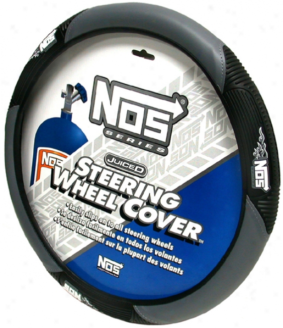 Gray Nos Steering Wheel Cover