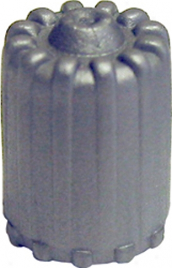 Gray Tpsm Plastic Valve Caps With Seal (box Of 100)