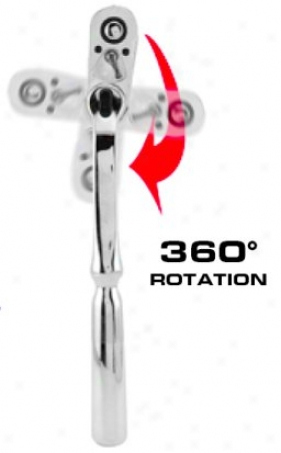 Great Neck 3/8'' Drive 36O Adjustable Angle Speedyratchet