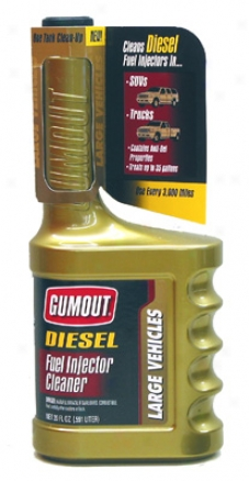 Gumout Diesel Fuel Injector Cleaner For Large Vehicles (20oz)