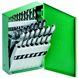 Hanson Hss Drill Bit Set - 29 Pc. Straight Shank