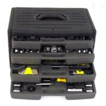 Hardware Machinery 99 Pc Tool Set With 4 Drawer Chest