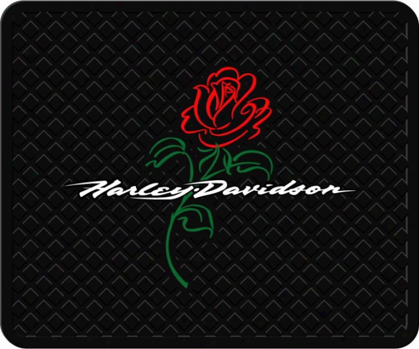 Harley Davidson Rose Utility Interweave
