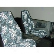 Hawaiian Print 5 Piece Seat Covers Set