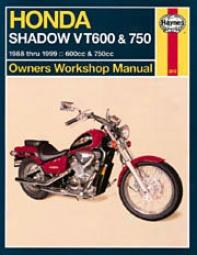 Haynes Honda Shadow Vt600 & 750 (1888-1999)