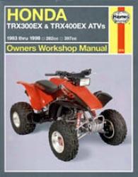 Haynse Honda Trx300ex & Trx400ex Atvs (1993-1999)