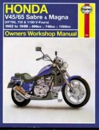 Haynes Honda V45/65 Sabre & Magna (1982-1988)