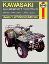 Haynes Kawasaki Bayou & Prairie Atvs (1986 - 2003)