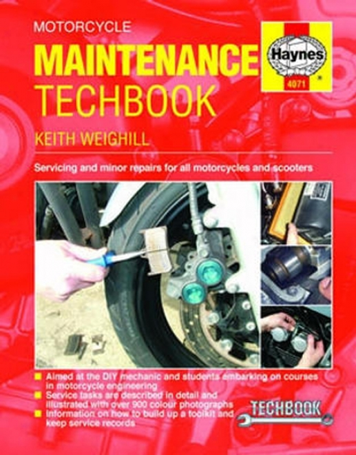 Haynes Motorcycle Maintenance Techbooo