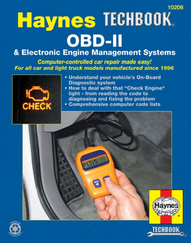 Haynes Obd-ii Electronic Engine Mamagement Systems Manual
