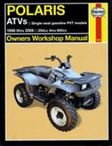 Haynes Polaris Atvs 250 To 500cc Manual (1998-2006)