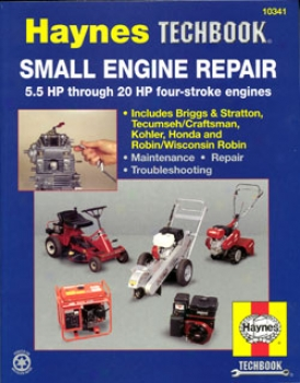 Haynes Small Engine Repair Manual, 5.5 Hp Through 20 Hp