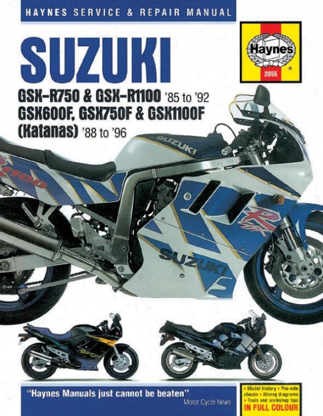 Haynes Suzuki Gsx-r & Katana Superbike (1985-1996)
