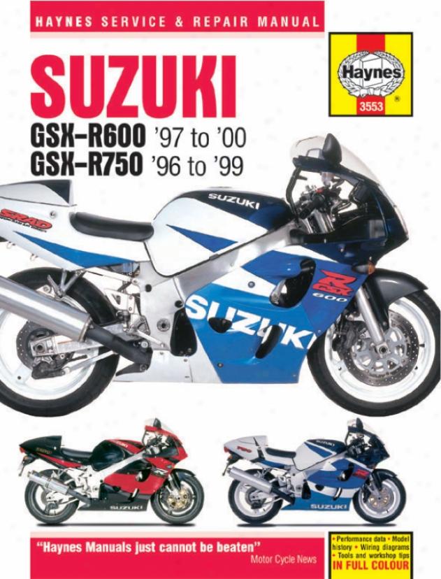 Haynes Suzuki Gsx-r600 & 750 Fours Superbike (1996-2000)