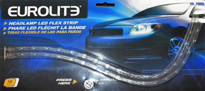 Headlamp Led Flex Strips (2 Pack)