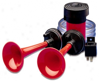 Hella 12v Twin-tone Air Horn Kit