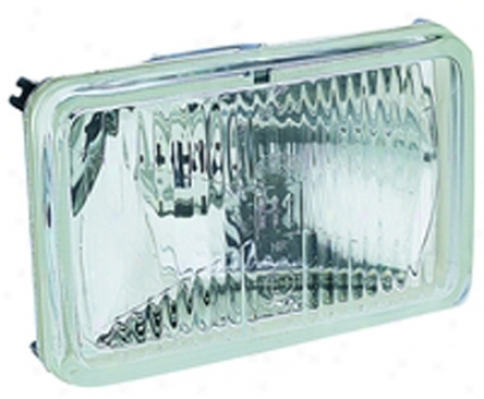 Hella 164 X 103mm H1 Single High Beam Headlamp - Most distant Road Merely