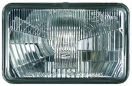 Hella 164 X 103mm H4 Singlee High/low Beam Headlamp - Off Road Only