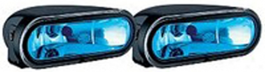 Hella Ff75 Free-fofm Blue Lens Driving Lamp Kit