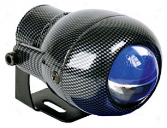 Hella Optilux 1150 Blue Ion Projector Carbon Fiber Look Fog Lights