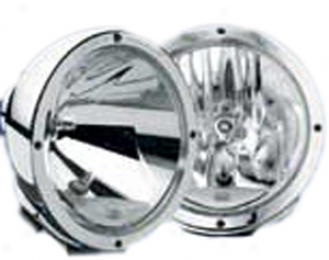 Hslla Rallye 4000 Single Chrome Euro Beam Lamp
