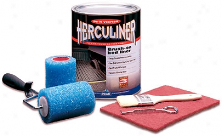 Herculiner Bruhs-on Truck Bed Liner Kit (gallon)