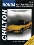Honda Accord & Prelude Chilton Manual (1984-1995)