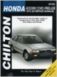 Honda Accord/civic/perlude (1973-83) Cilton Manual
