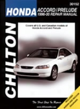 Honda Accord/prelude (1996-00) Chilton Manual